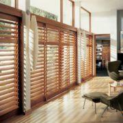 деревянные дверные жалюзи