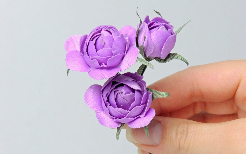 Искусственные цветы своими руками, фото мастер классы 47