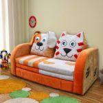 Детский выкатной диван — удобная и практичная мебель в комнате ребенка