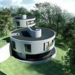 Круглый дом — жилая архитектура будущего с множеством плюсов