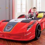 Кровать-машина: яркий элемент дизайна детской комнаты