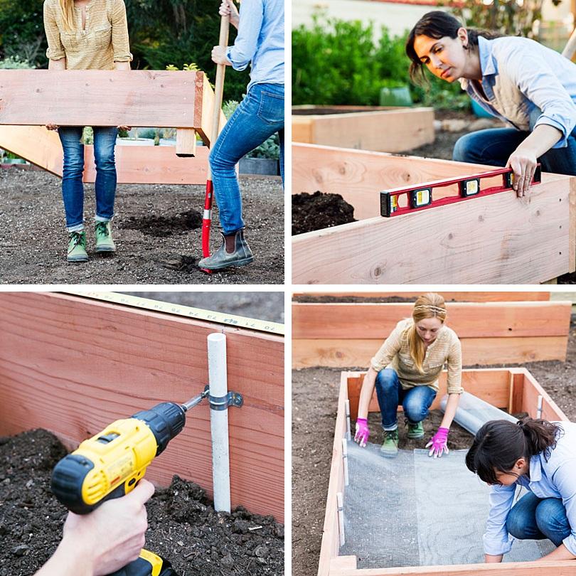 Новости PRO Ремонт - Как оформить грядки на даче и вырастить хороший урожай 11