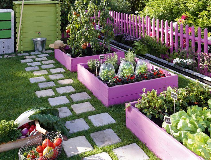 Новости PRO Ремонт - Как оформить грядки на даче и вырастить хороший урожай 6