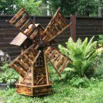 Декоративная мельница своими руками: пошаговый мастер-класс