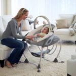 Детские электронные качели для новорожденных: описание, модели, преимущества, отзывы