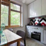 Кухня 5 кв. м — практичные идеи дизайна, ремонта, перепланировки