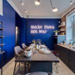 Синяя кухня: лучшая фотоподборка дизайнерских идей, благородные оттенки и цветовые сочетания