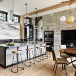 Кухня-гостиная 40 кв. м — оптимальный вариант планировки для всей семьи