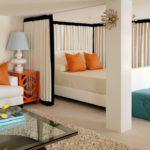 Спальня-гостиная 18 кв. м: красивые и практичные идеи организации