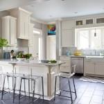 Дизайн плиточной облицовки пола кухни