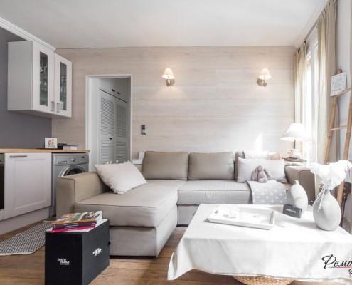 Светлые оттенки мебели