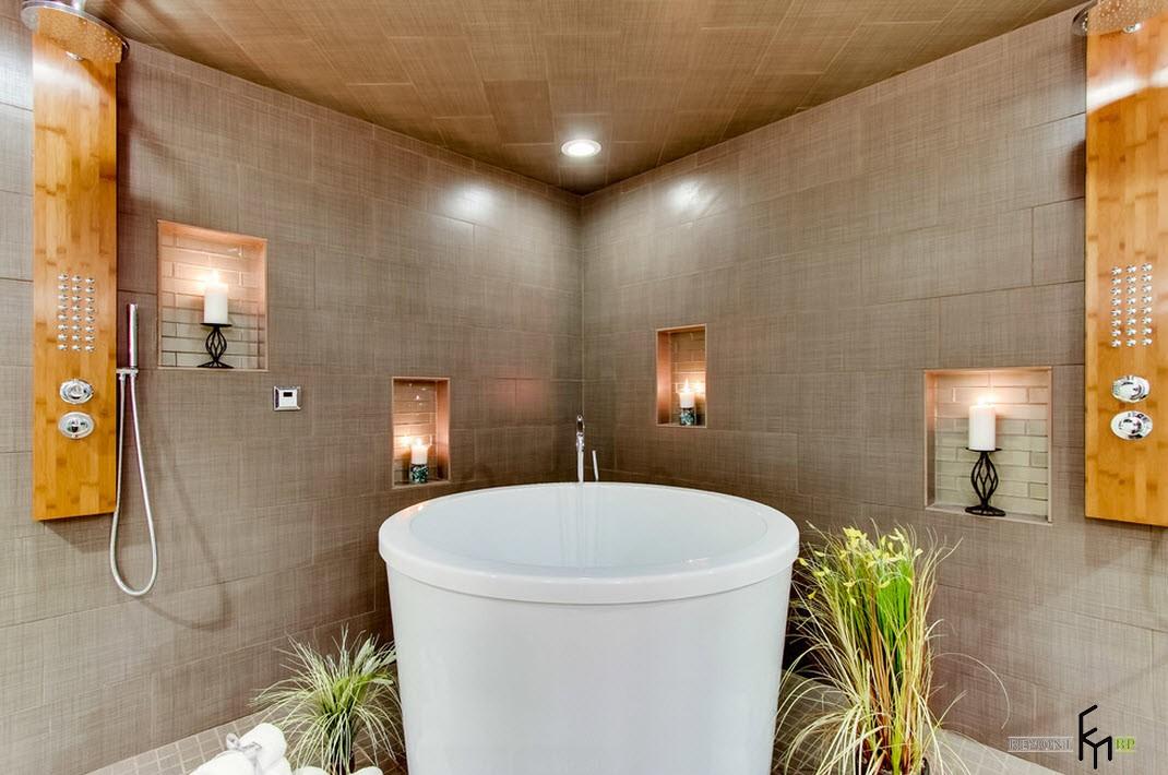Круглая ванна