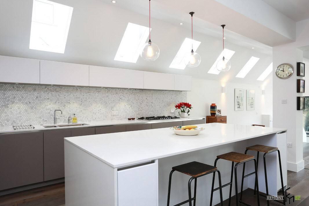 Минималистский интерьер кухни