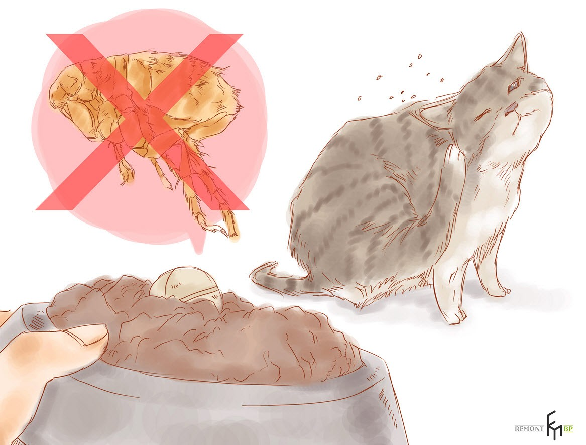 Таблетки от блох в еду