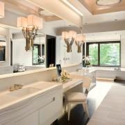 Декоративные светильники в ванной