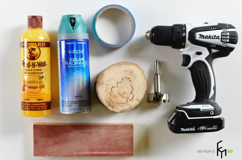 Инструменты для изготовления горшка