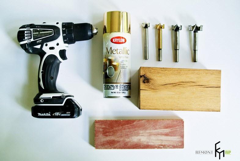 Инструменты для изготовления подставки