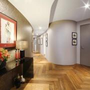 Оригинальная планировка коридора