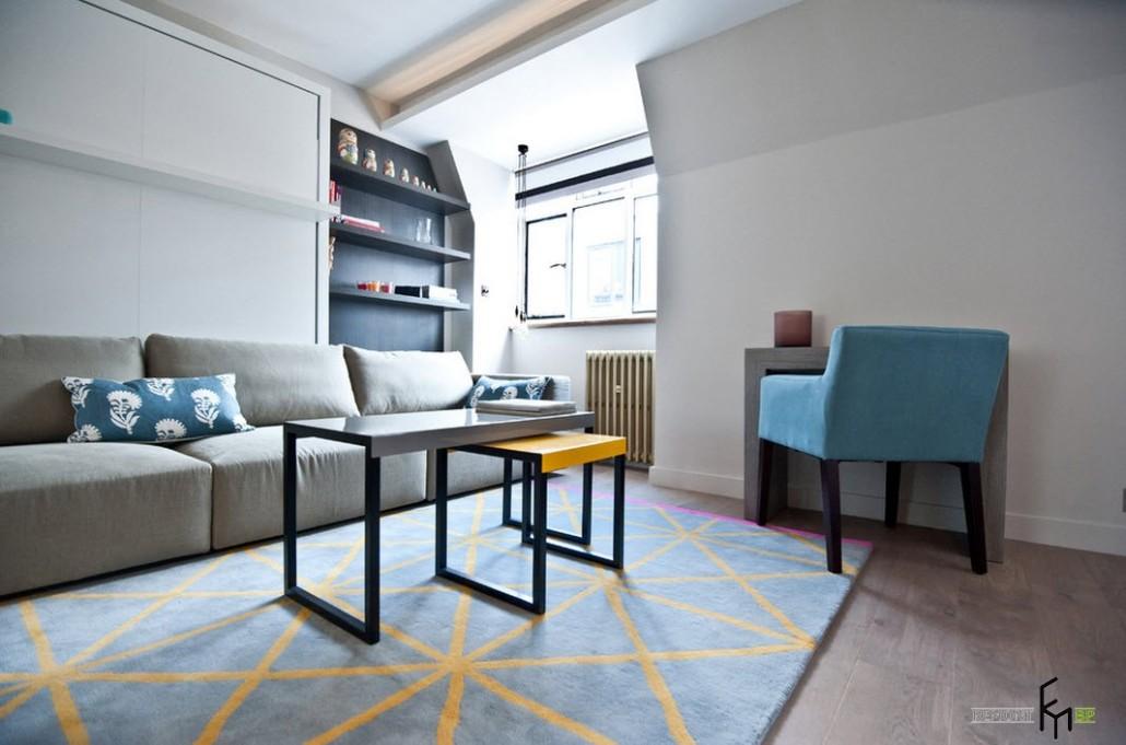 Однокомнатная квартира-студия 25 кв