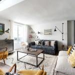 Двухуровневая квартира — студия в стиле лофт