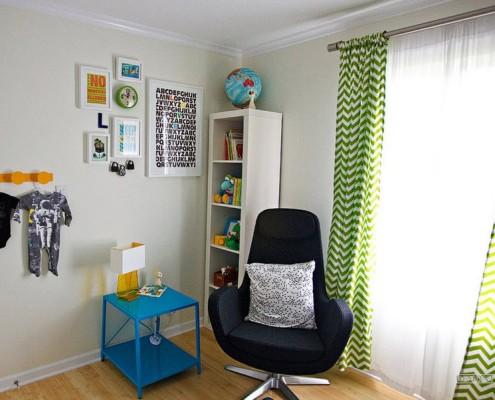 Стильный дизайн зеленых штор: комбинации, варианты сочетания на фото