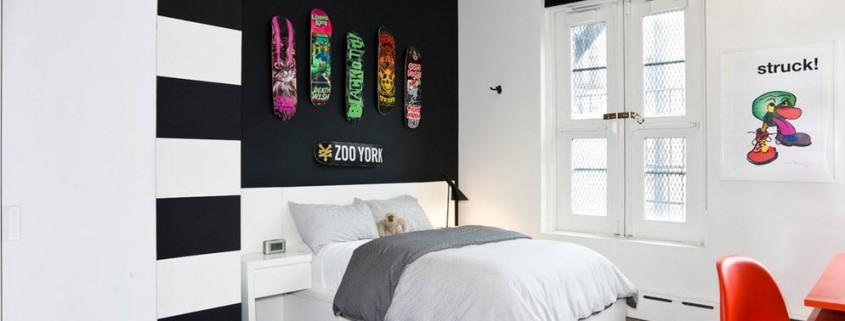 Спальня в светлых тонах интерьер