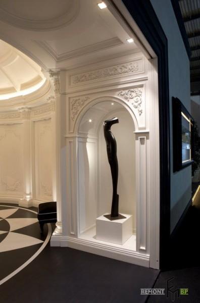 Эксклюзивный и роскошный дизайн квартиры в итальянском стиле Японский Стиль Фон
