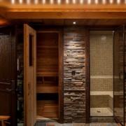 Камня в интерьере ванной комнаты должно быть в меру