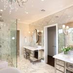 Варианты дизайна стен в ванной комнате