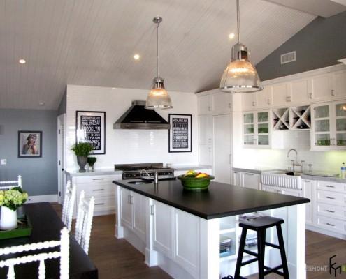 Кухня для дома в морском стиле