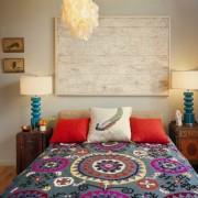 Яркий текстиль в этно стиле