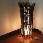 Напольная лампа своими руками: просто и стильно