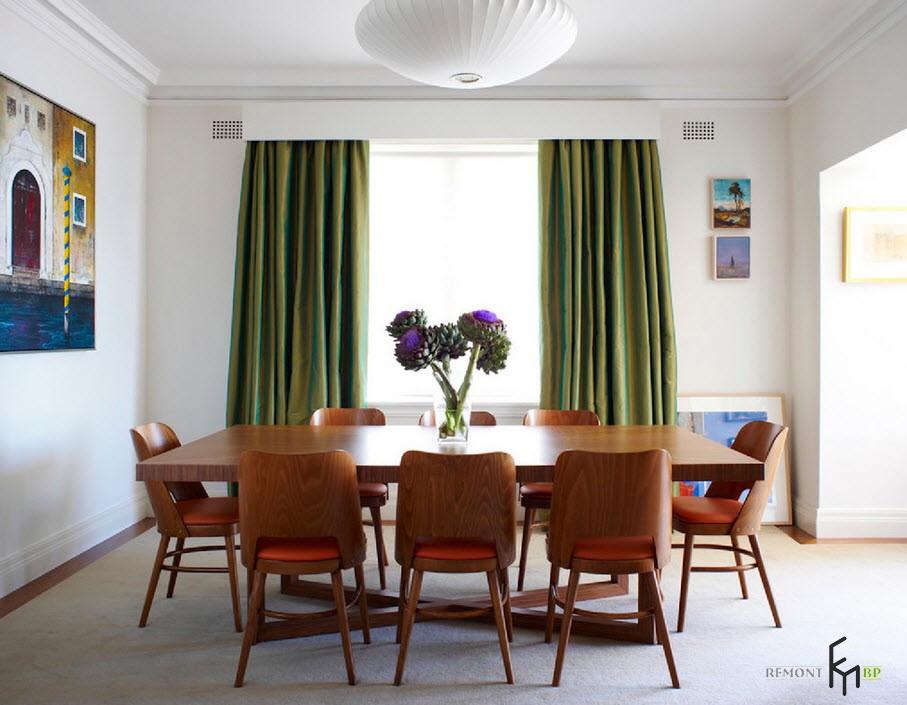 Великолепие природных оттенков в изысканных шторах зеленого цвета