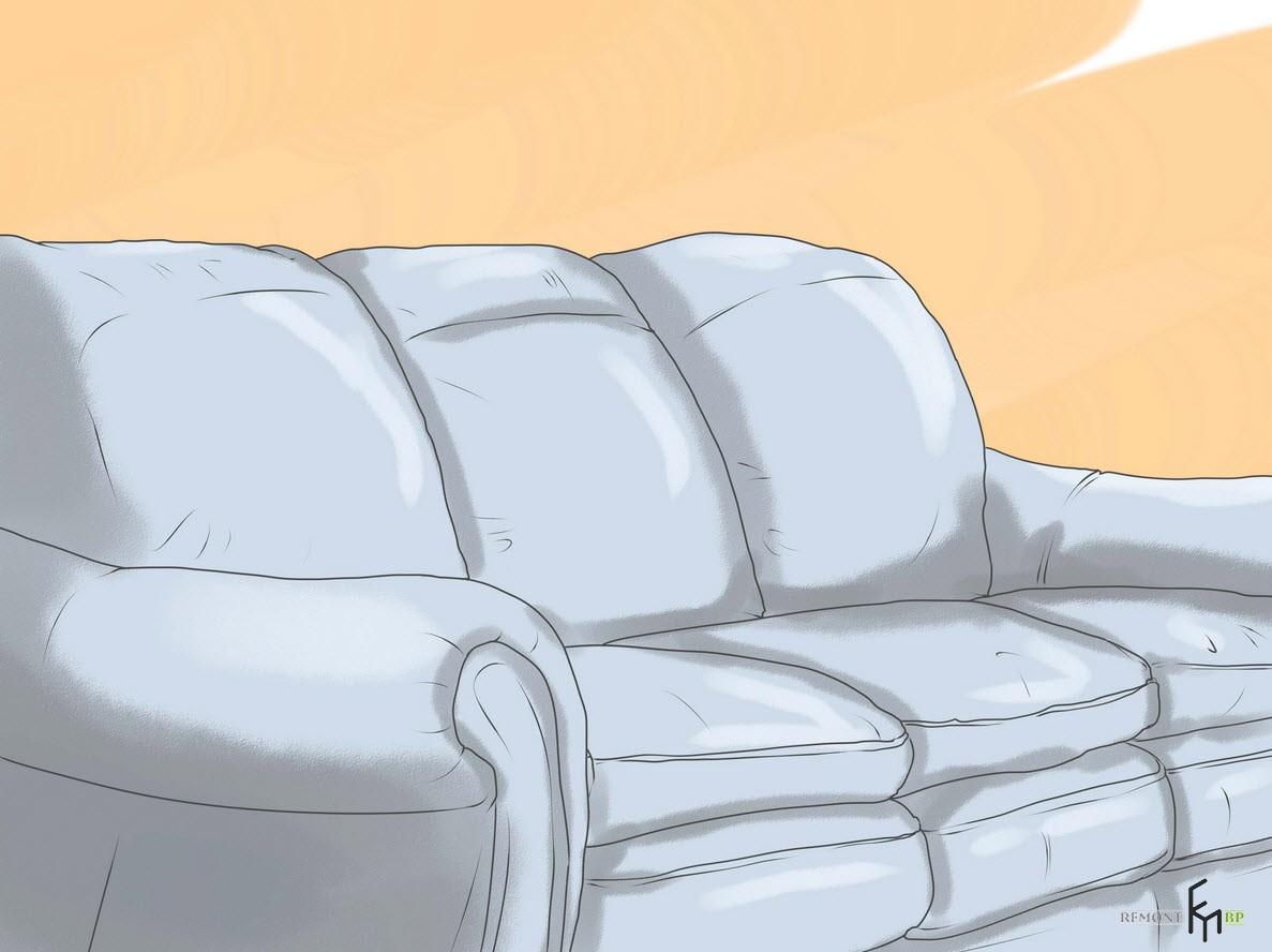 Трещины не украсят диван