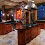 Как оживить кухню из камня