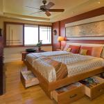 Кровать с ящиками: 30 удивительных примеров