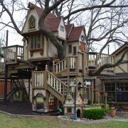 Большой детский городок с домом