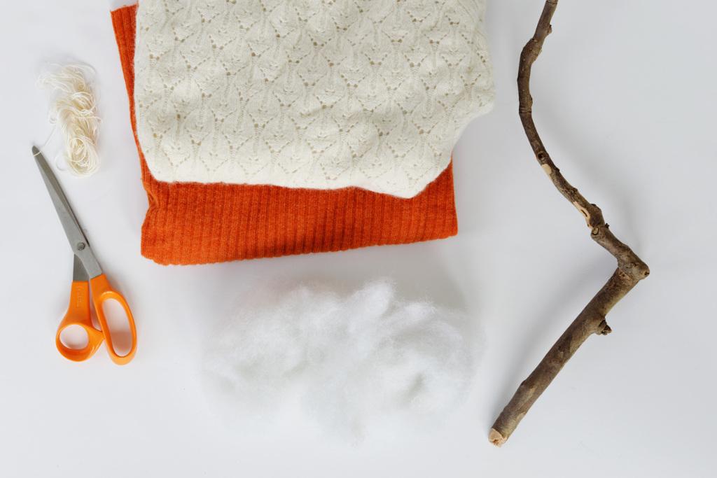 Инструменты и материалы для тыквы
