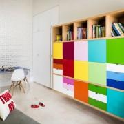 Мебель с яркими фасадами