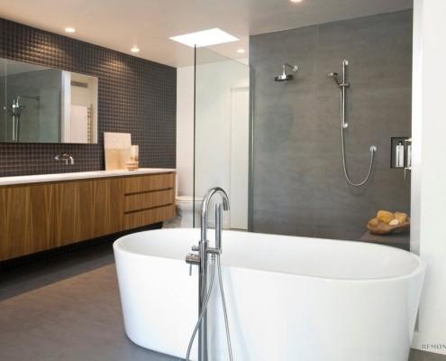 Объединенные ванная и душ