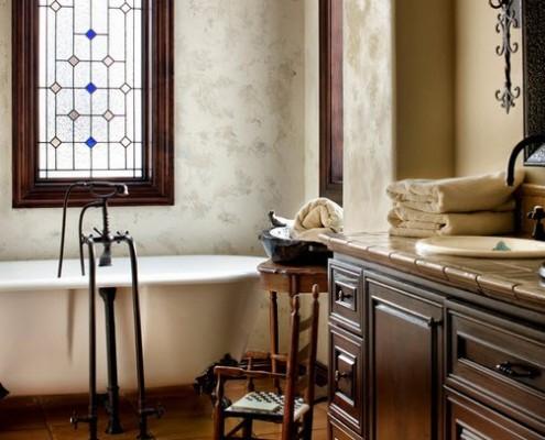 Ванная комната на вилле