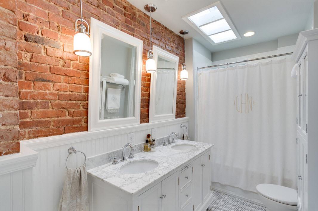 Стены в ванной: 35 лучших идей обустройства интерьера комнаты