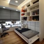 Встроенная кровать: функциональность и практичность