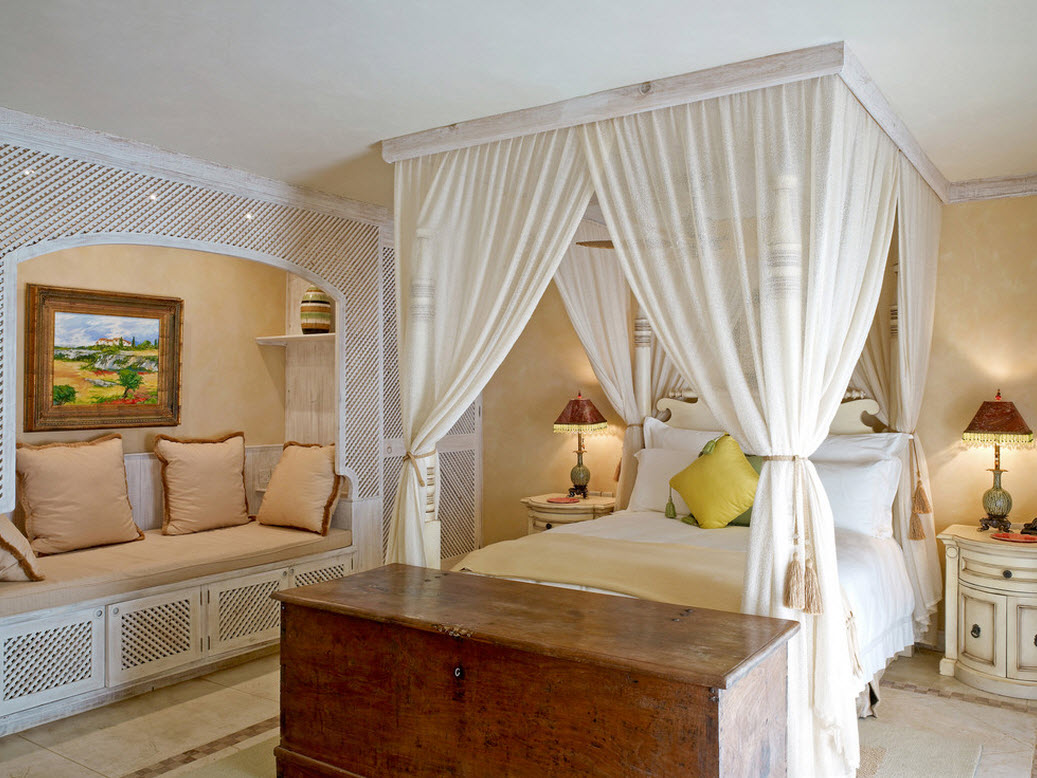 Балдахин - украшение спальни