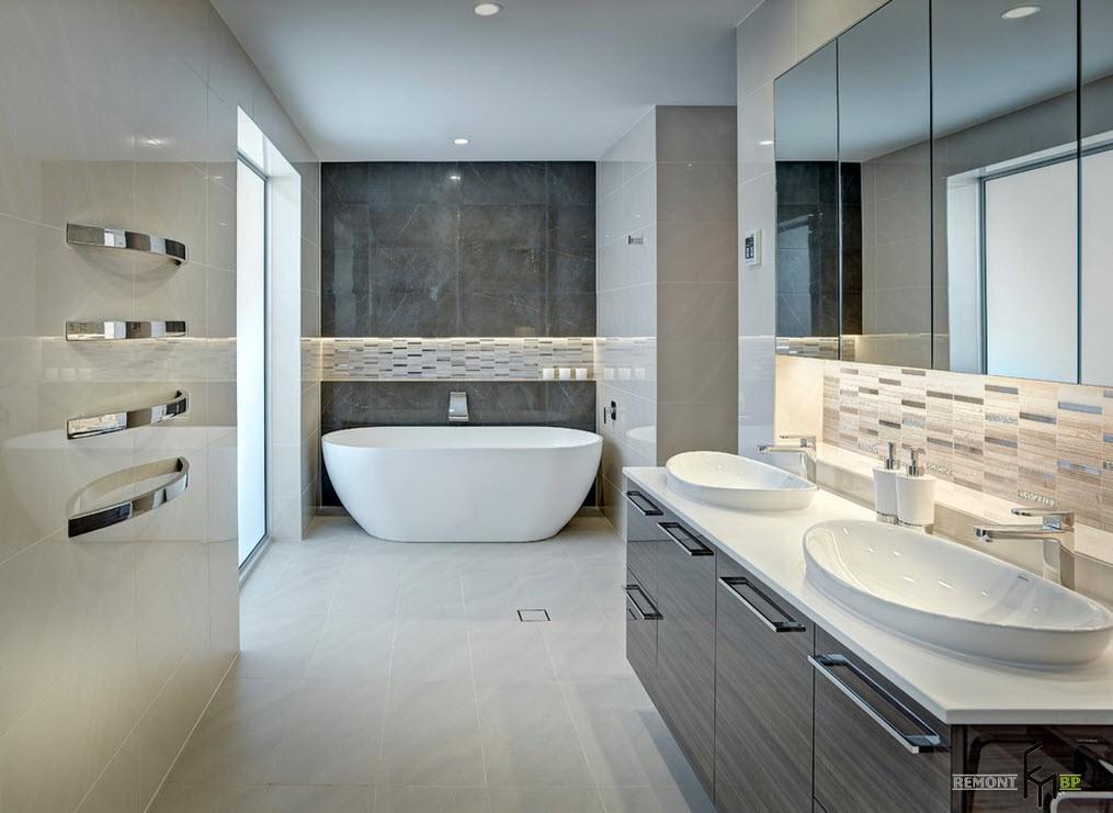 Ванная прямоугольной формы