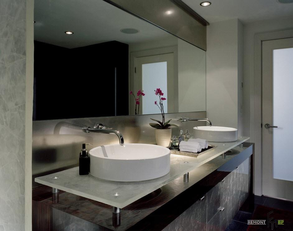Дизайн раковин для ванной