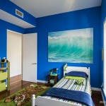 Детская комната цвета неба