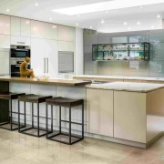 Освещение кухни в стиле модерн
