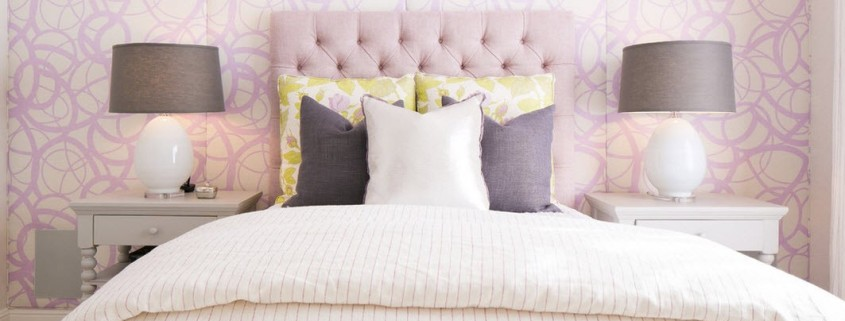 Стиль Кантри для спальни