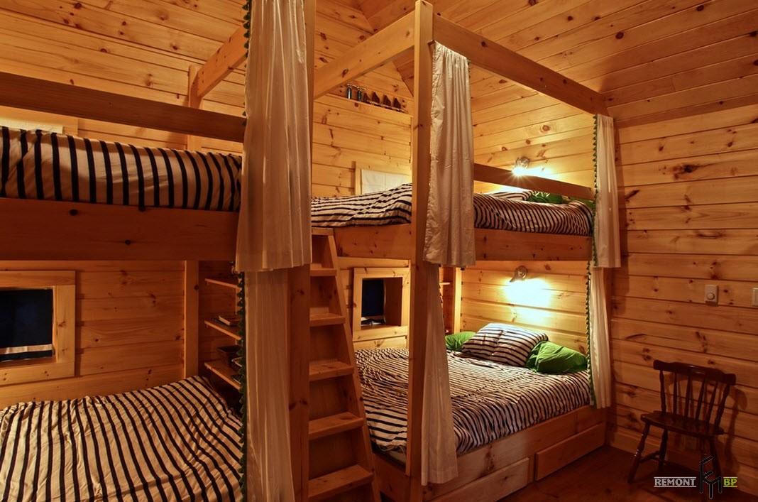 Спальня для четверых